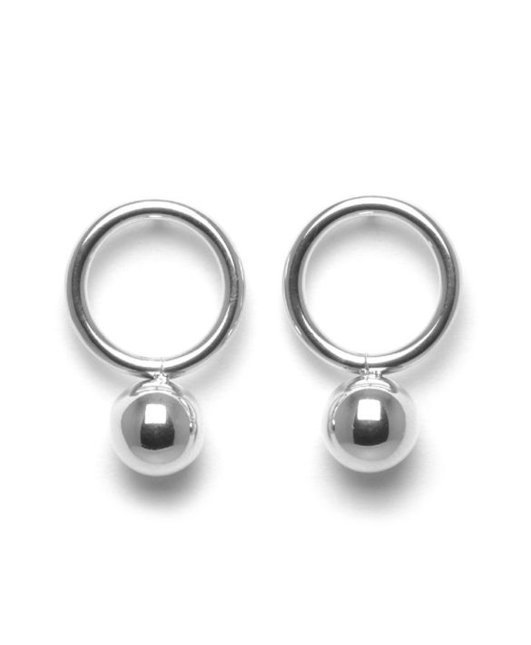Earrings Orbit Steel - Bud to Rose