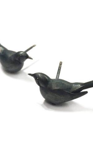 Boucles d'oreilles Blackbird - 1805 Story