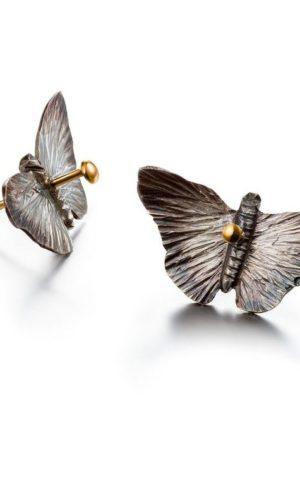 Earrings Butterfly - 1805 Story