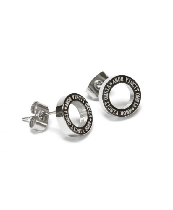 Boucles d'oreilles Madison Steel - Bud to Rose
