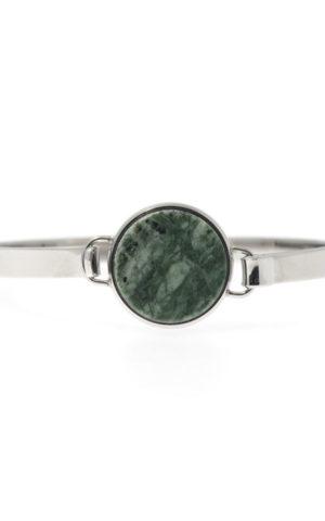 Bracelet Rock Steel Green - Bud to Rose
