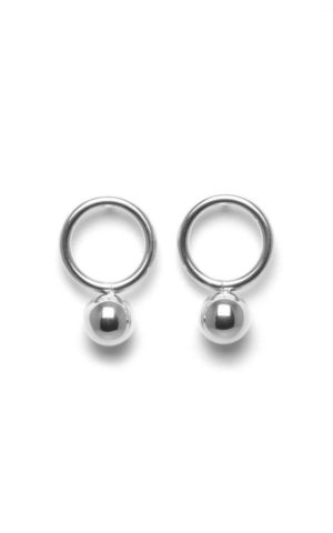 Boucles d'oreilles Orbit Steel - Bud to Rose