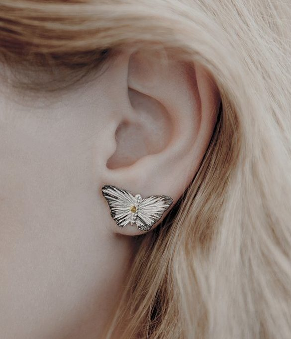 Earrings Butterfly - 1805 Story