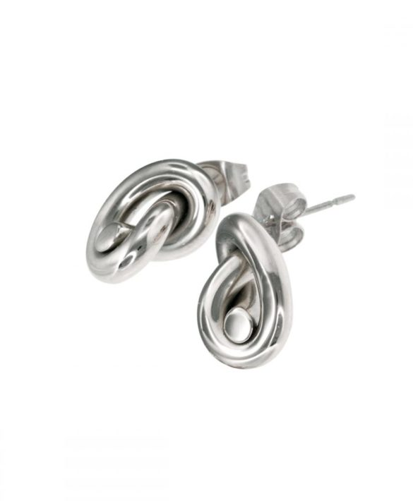 Earrings Ella Stud Steel - Ingnell Jewellery