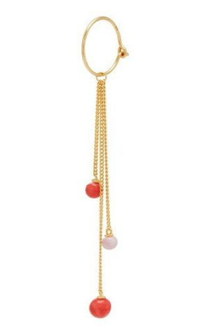 Boucles d'oreilles Colour Gold Rose Heather - Louise Kragh