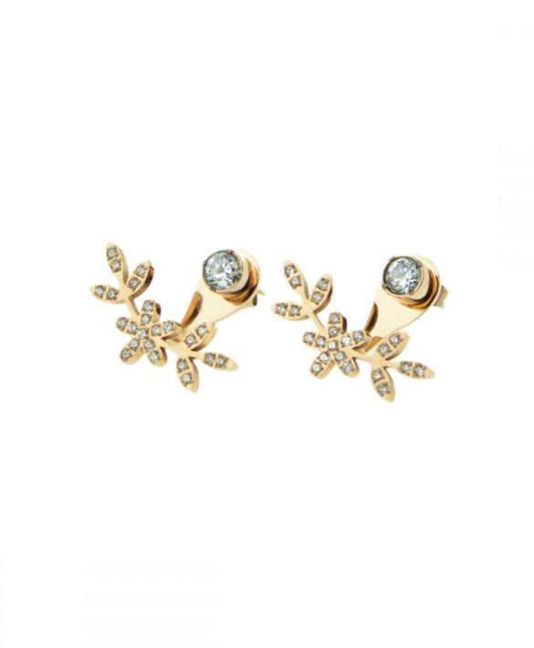 Earrings Grace Gold - Ingnell Jewellery