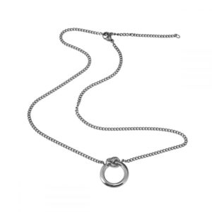 Collier Never Give Up Steel - Ingnell Jewellery