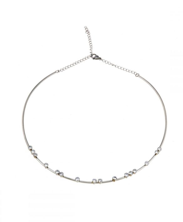 Necklace Ziva Steel - Ingnell Jewellery