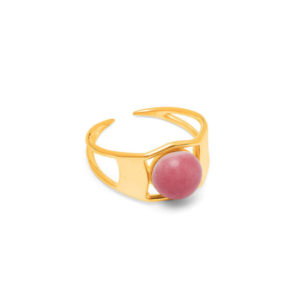 Bague Arch Gold Heather - Louise Kragh