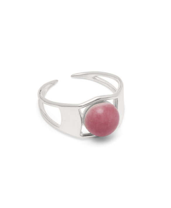 Ring Arch Silver Heather - Louise Kragh