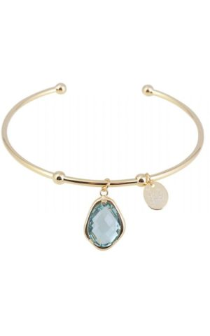 Bracelet Snowdrop Bangle Green - Star of Sweden