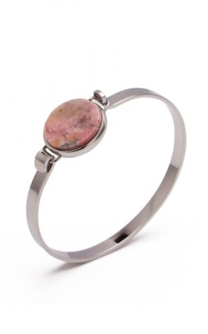 Bracelet Rock Steel Pink - Bud to Rose