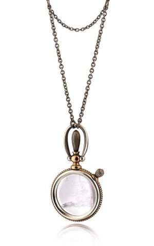 Necklace Magnifying Crystal Pendant - 1805 Story