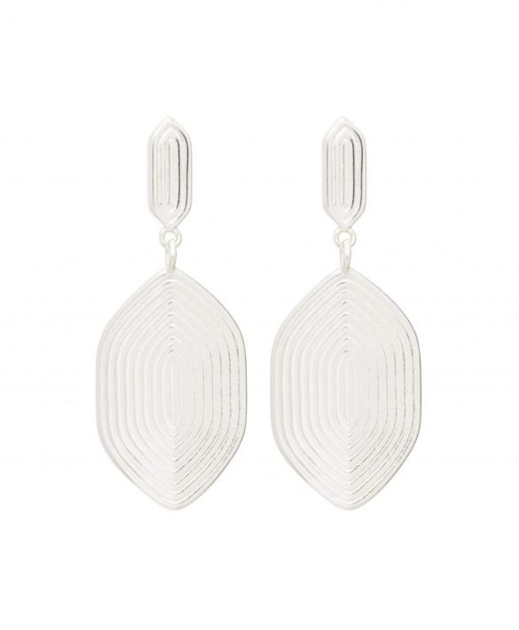 Earrings Maze Silver - Louise Kragh