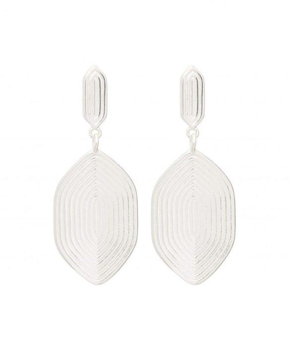 Boucles d'oreilles Maze Silver - Louise Kragh