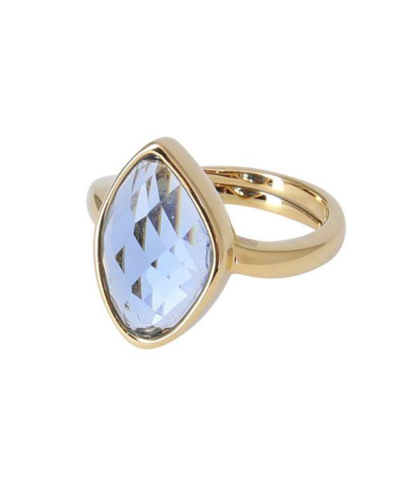 Bague Snowdrop Blue - Star of Sweden
