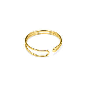 Ring Enamel Gold - Louise Kragh