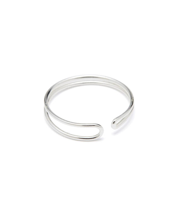Ring Enamel Silver - Louise Kragh
