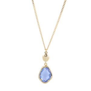 Necklace Snowdrop Blue - Star of Sweden