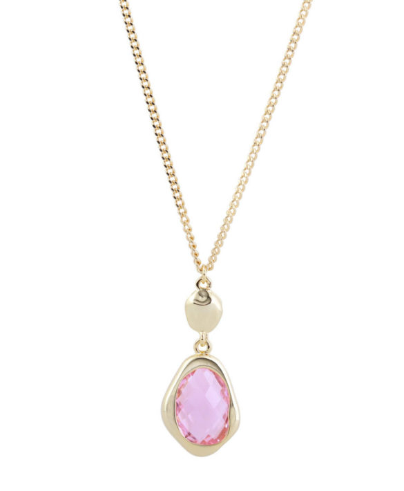 Necklace Snowdrop Pink - Star of Sweden