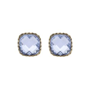 Earrings Classic Stud Blue - Star of Sweden
