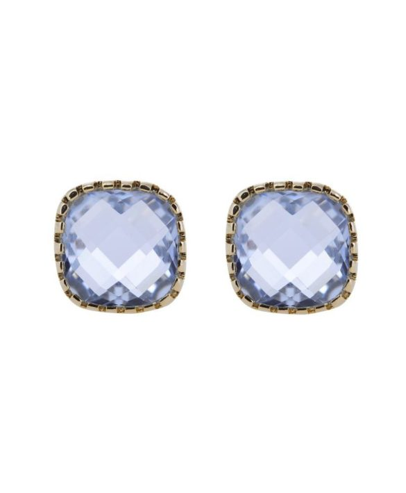 Boucles d'oreilles Classic Stud Blue - Star of Sweden