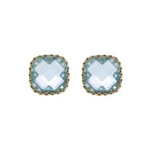 Earrings Classic Stud Green - Star of Sweden