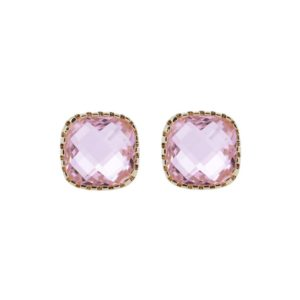Boucles d'oreilles Classic Stud Pink - Star of Sweden