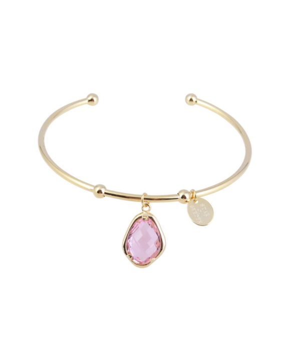 Bracelet Snowdrop Bangle Pink - Star of Sweden