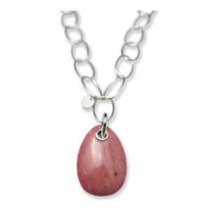 Necklace California Silver Pink - Bud to Rose