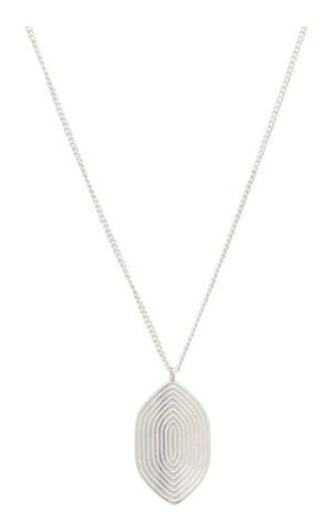 Necklace Maze Silver - Louise Kragh