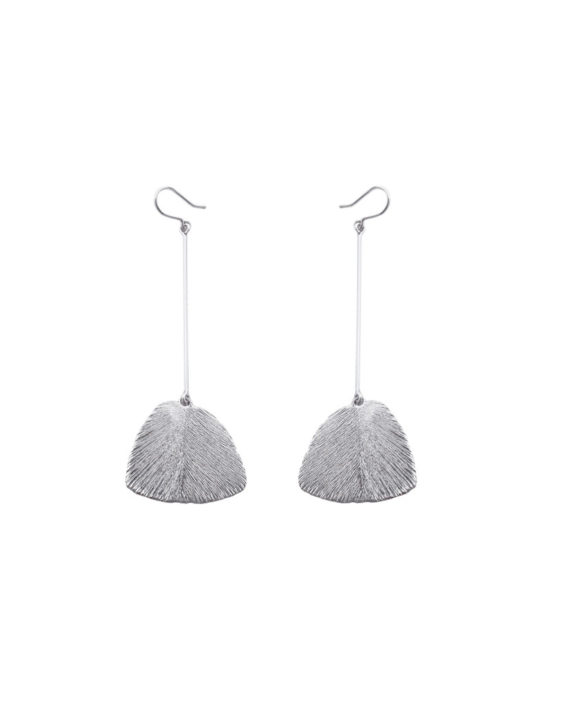 Earrings Serenity Long Silver- Pioni Design