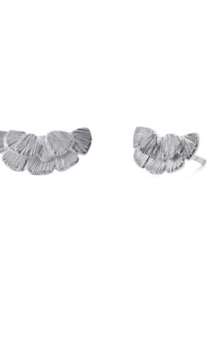 Earrings Serenity Stud Silver - Pioni Design