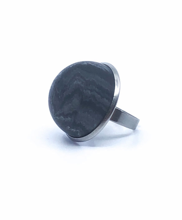 Bague Ädel Dark Marbled - Craft Studio