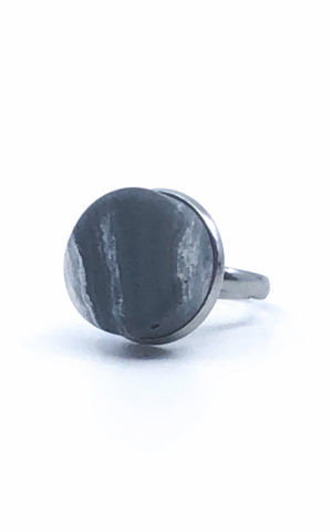 Ring Pastill Dark Marbled - Craft Studio