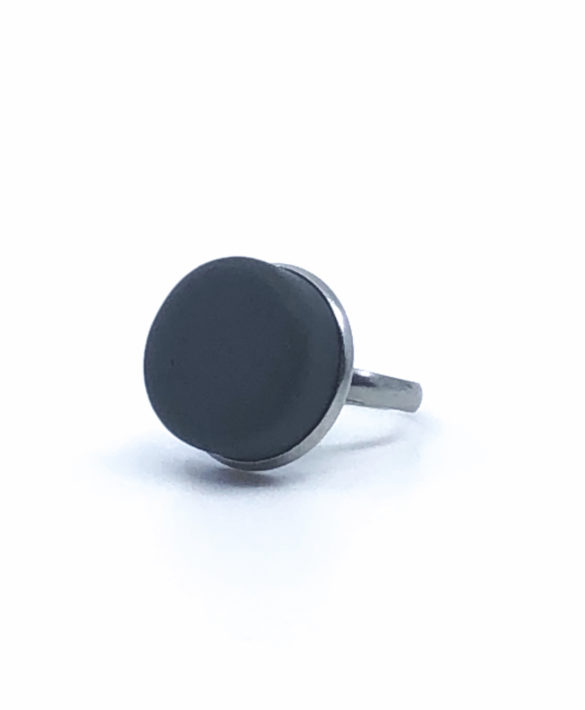 Bague Pastill Graphite Grey - Craft Studio