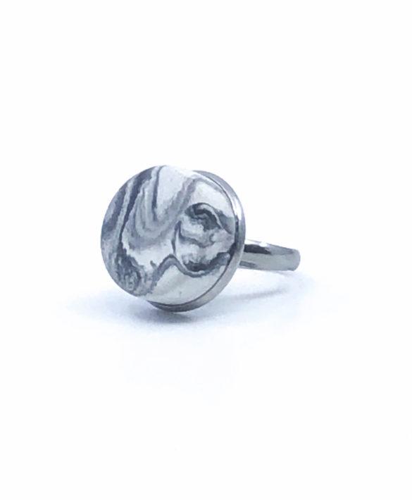 Ring Pastill Light Marbled - Craft Studio